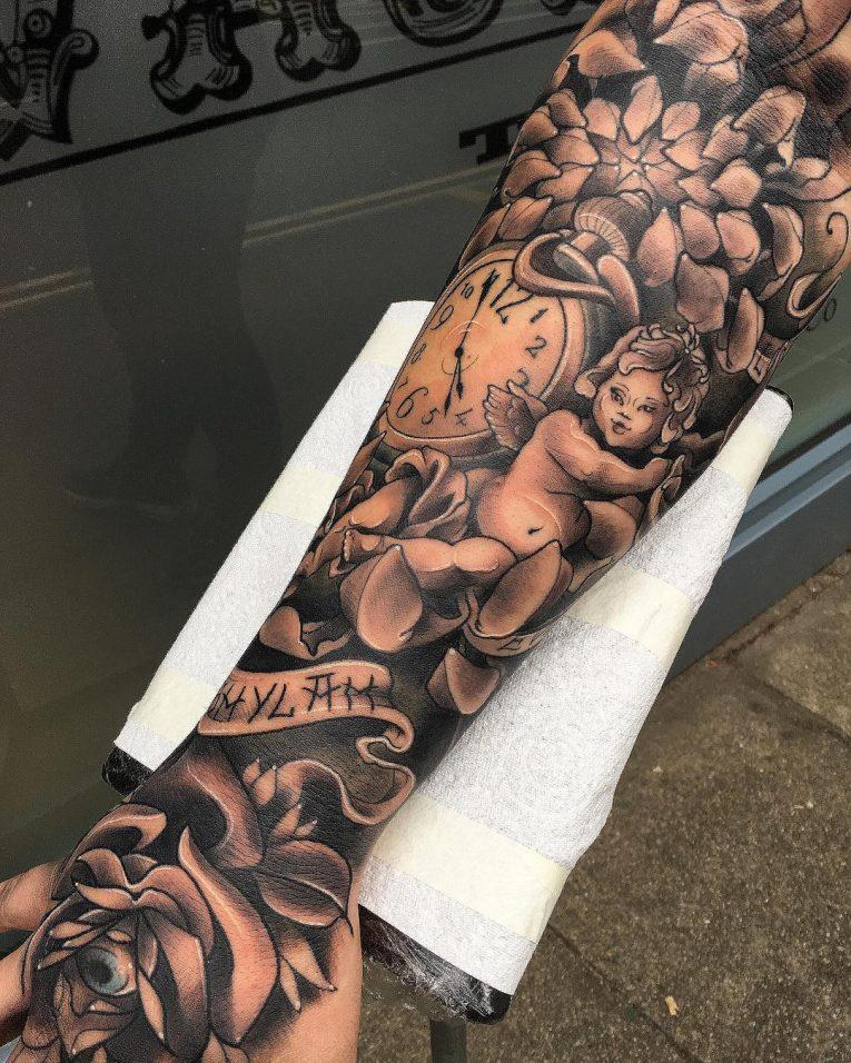 Black & White Tattoo 77