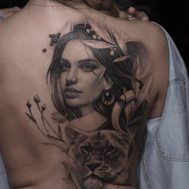 Black and Grey Tattoo 56