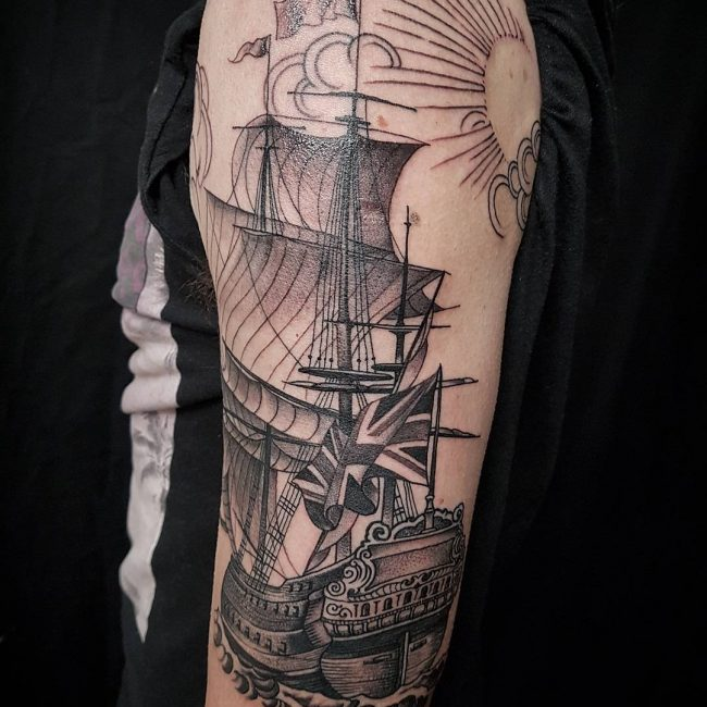 Black and Grey Tattoo 59