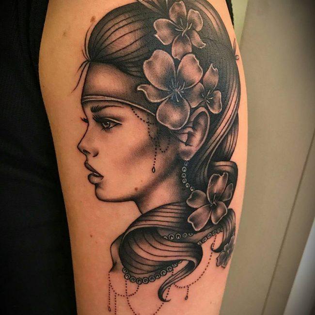 Black and Grey Tattoo 63