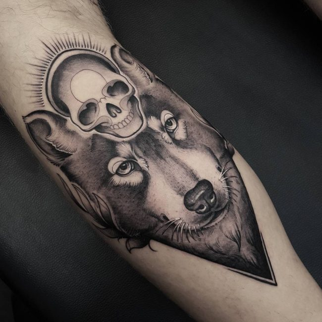 Black and Grey Tattoo 65