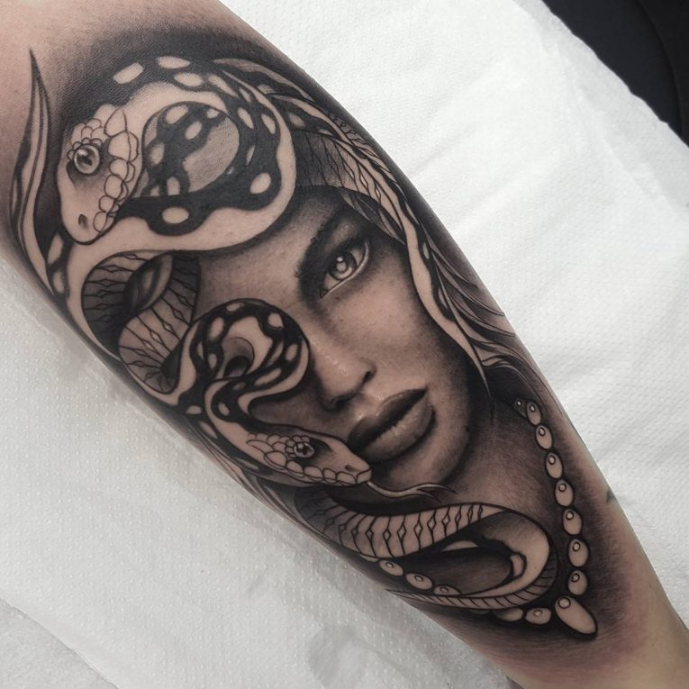 Black and Grey Tattoo 66