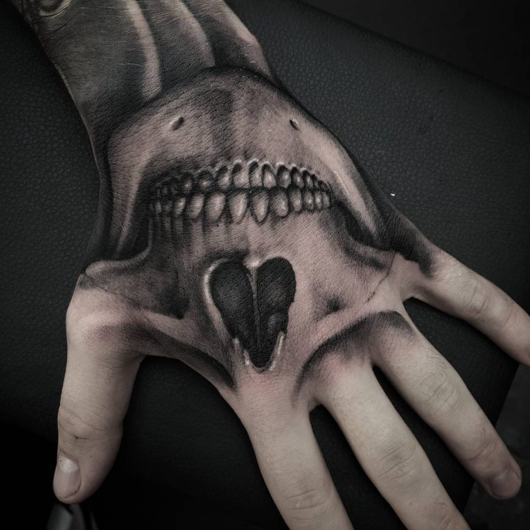 Black and Grey Tattoo 69