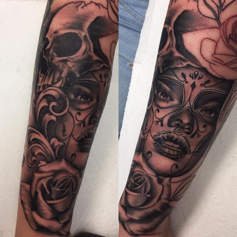 Black and Grey Tattoo 70