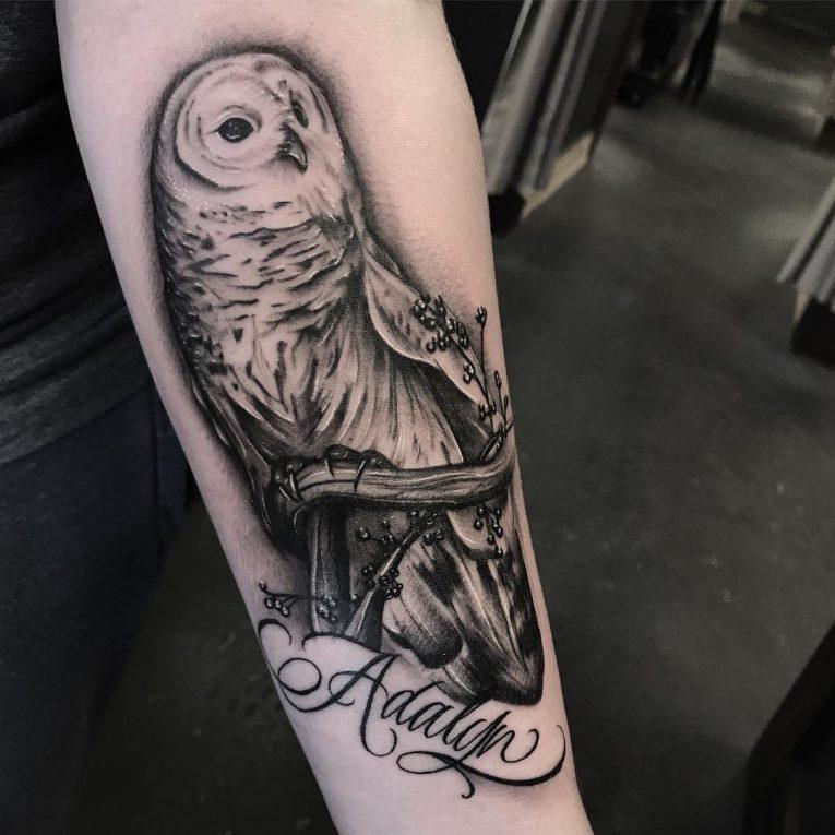Black and Grey Tattoo 74