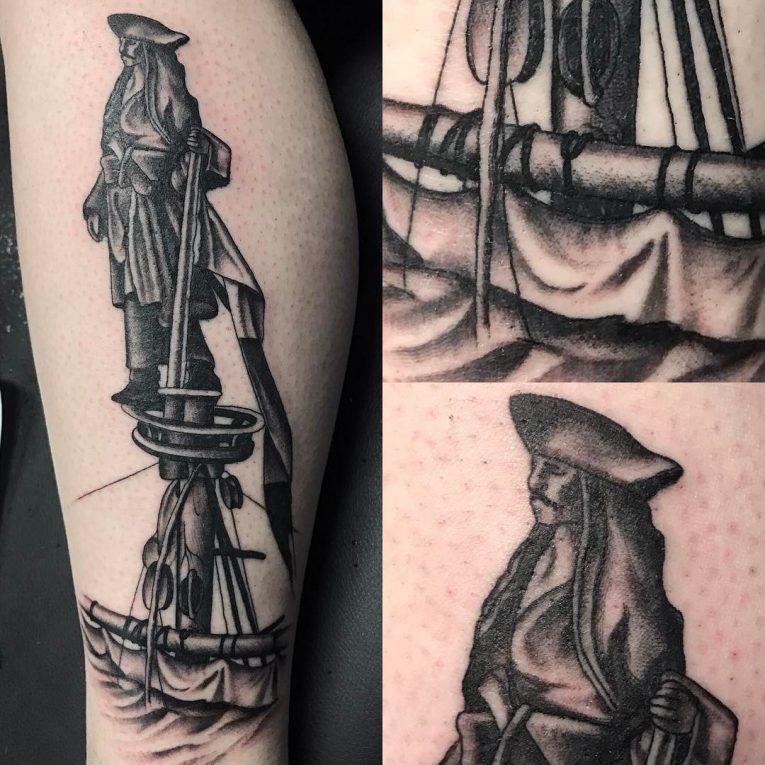 Black and Grey Tattoo 76