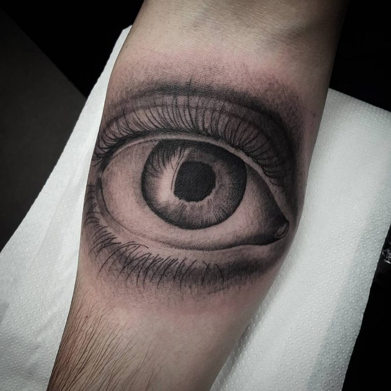 Black and Grey Tattoo 77