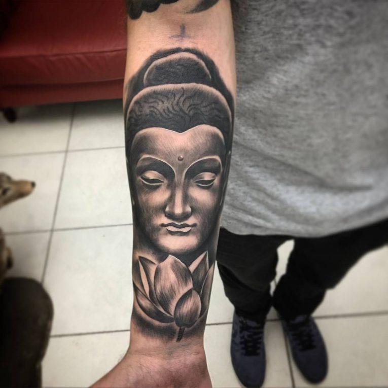 Buddha Tattoo 130
