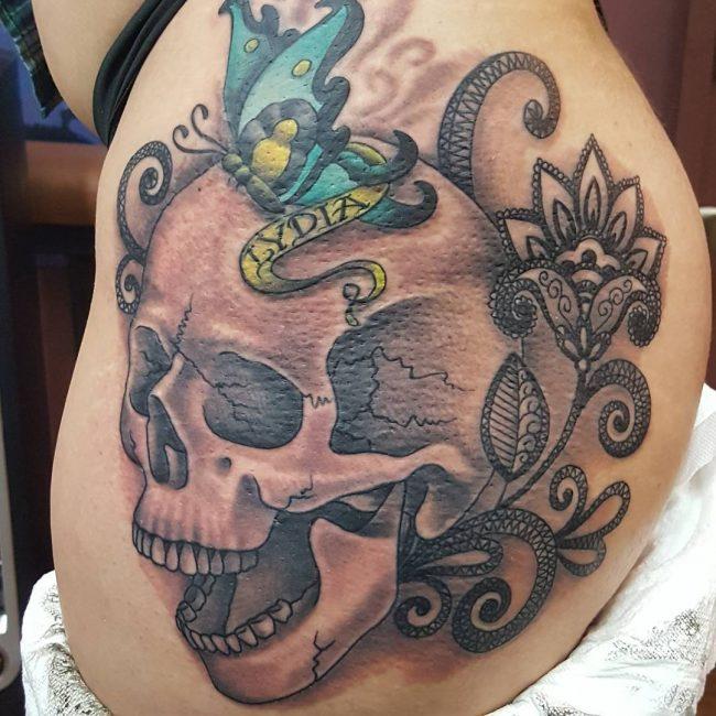 Butt Tattoo 49