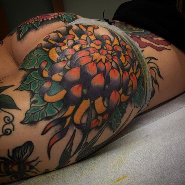 Butt Tattoo 52