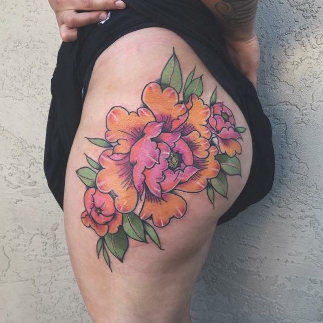 Butt Tattoo 55