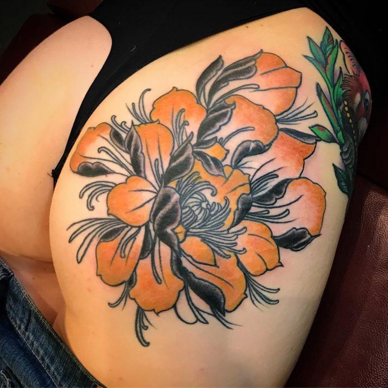Butt Tattoo 57