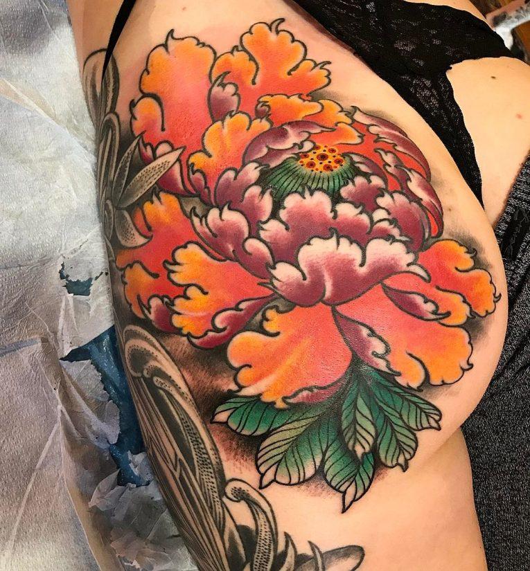 Butt Tattoo 61