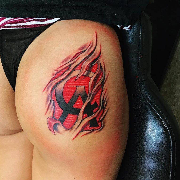 Butt Tattoo 62