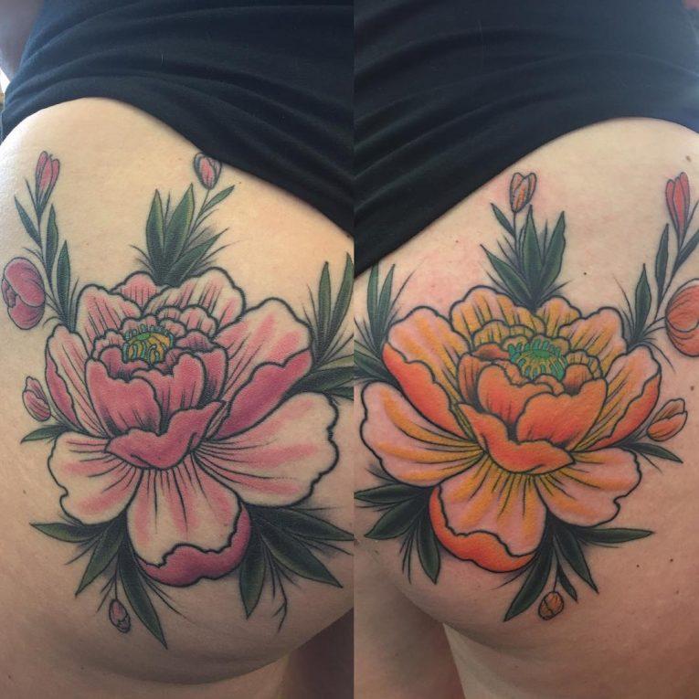 Butt Tattoo 63