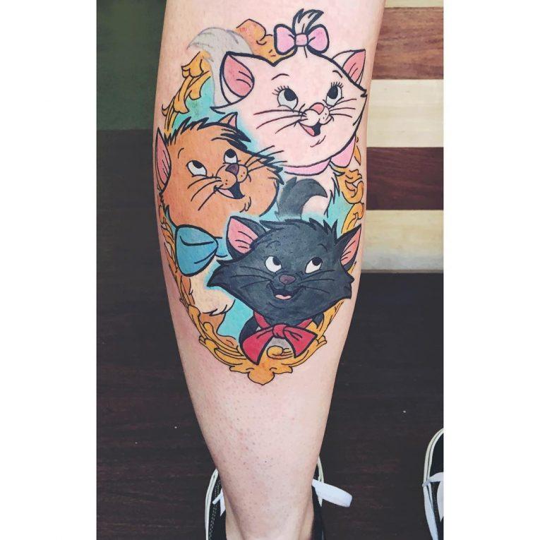 Calf Tattoo 121