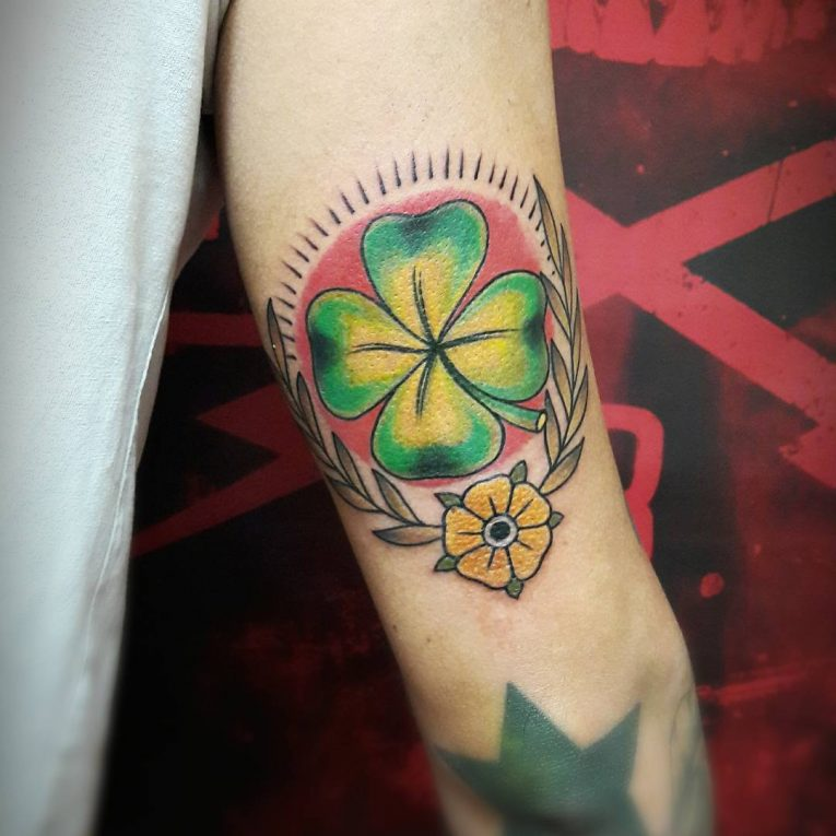Clover Tattoo 69