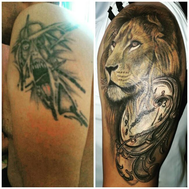Cover Up Tattoo 38