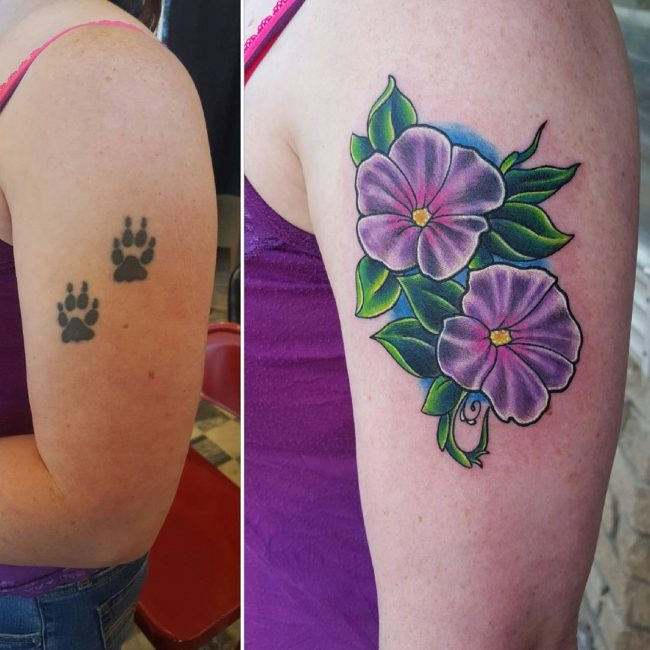 Cover Up Tattoo 43