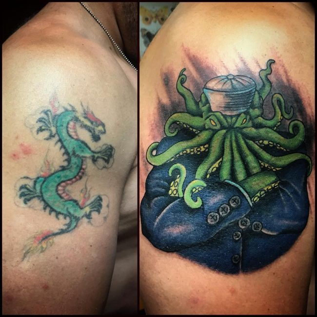 Cover Up Tattoo 45