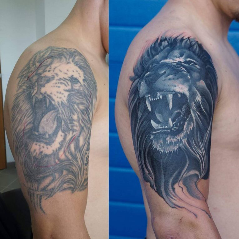 Cover Up Tattoo 48