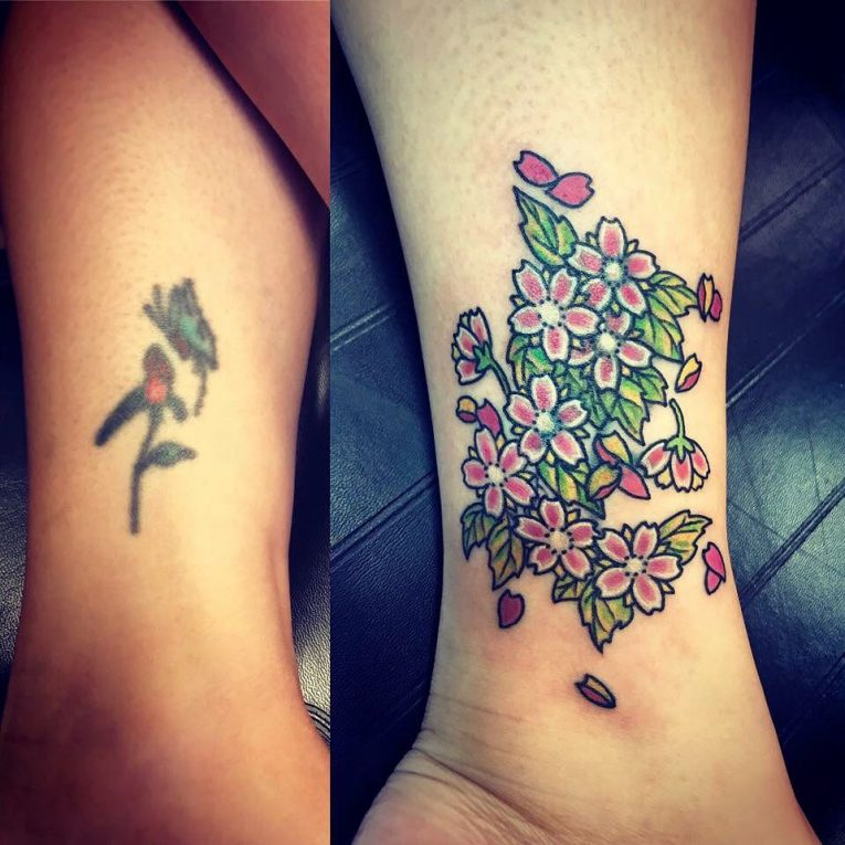 Cover Up Tattoo 56