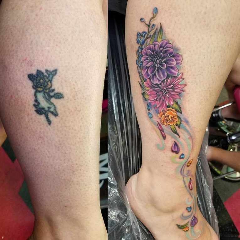 Cover Up Tattoo 57