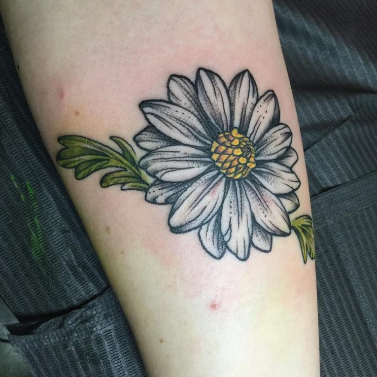 Daisy Flower Tattoo 80