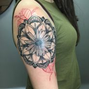 Daisy Flower Tattoo 87