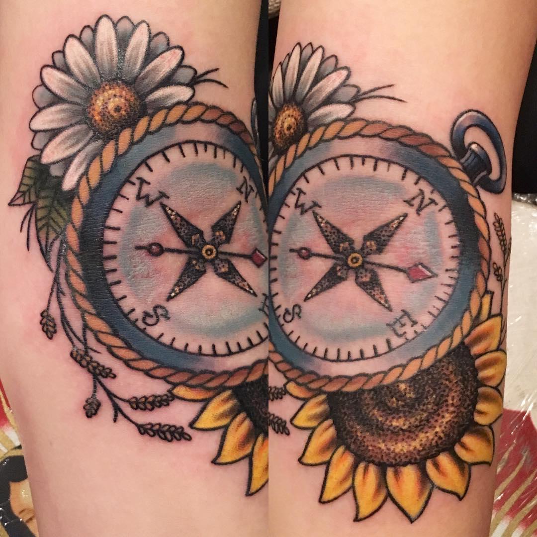 85 Best Daisy Flower Tattoo Designs & Meaning 2017