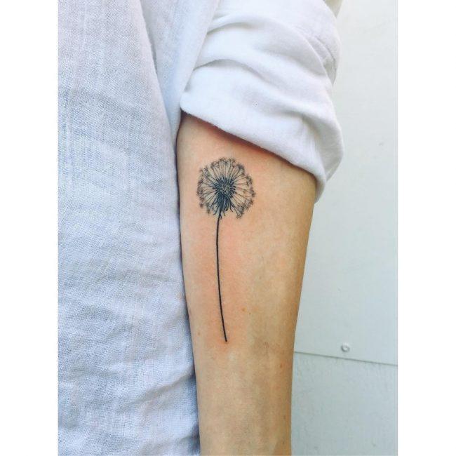 Dandelion Tattoo 46