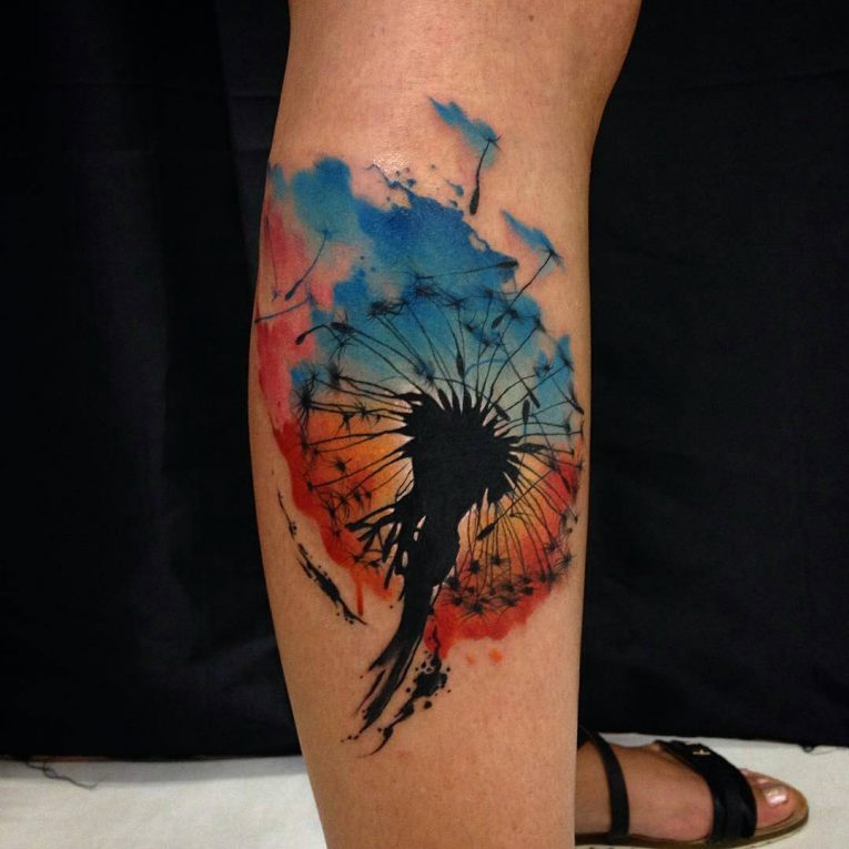 Dandelion Tattoo 63