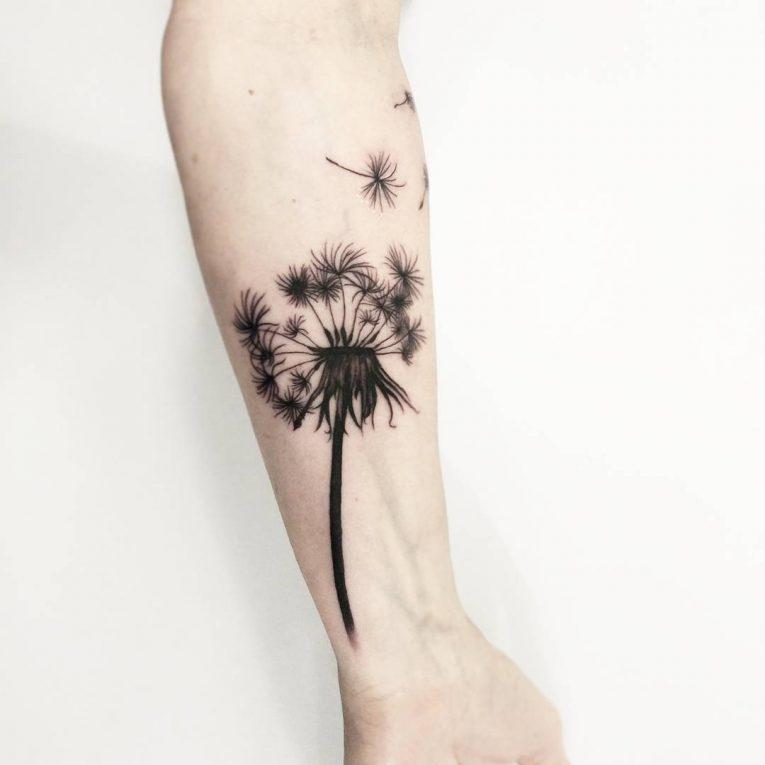 Dandelion Tattoo 65