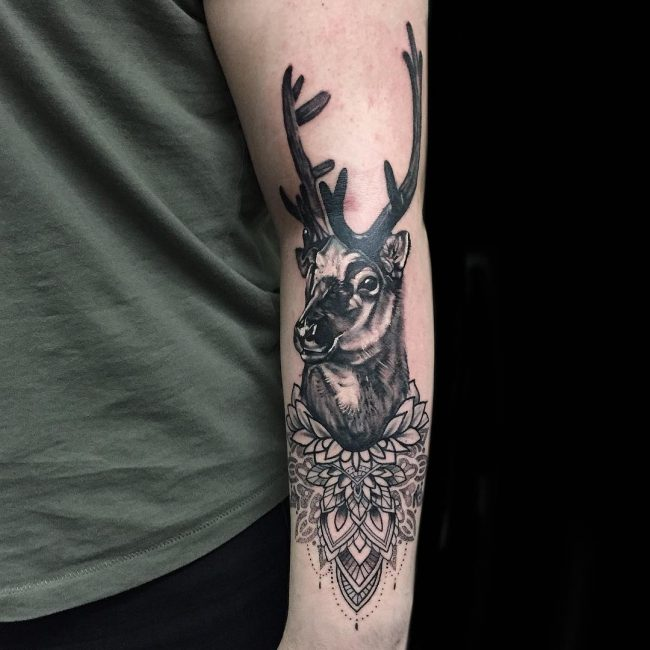 Deer Tattoo 107
