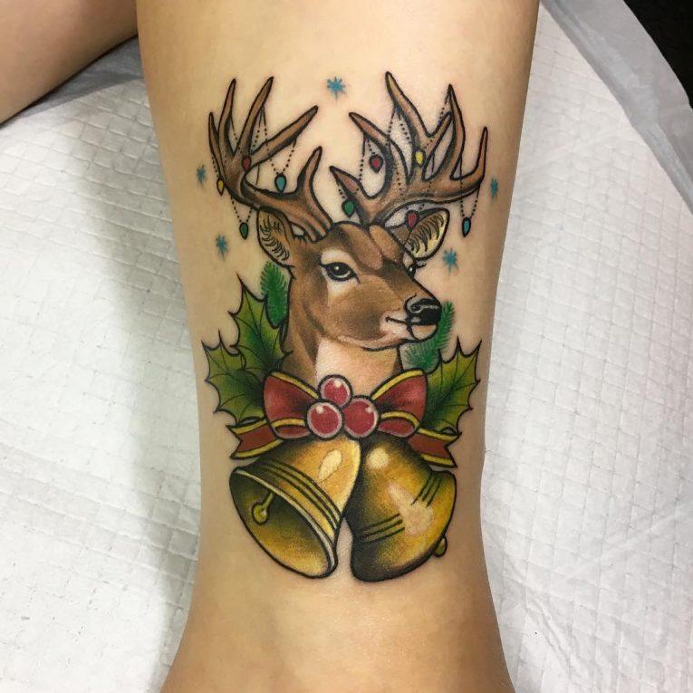 Deer Tattoo 111