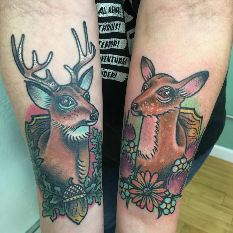 Deer Tattoo 112