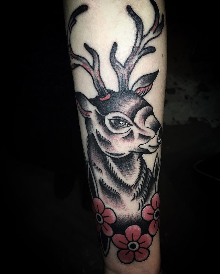 Deer Tattoo 113