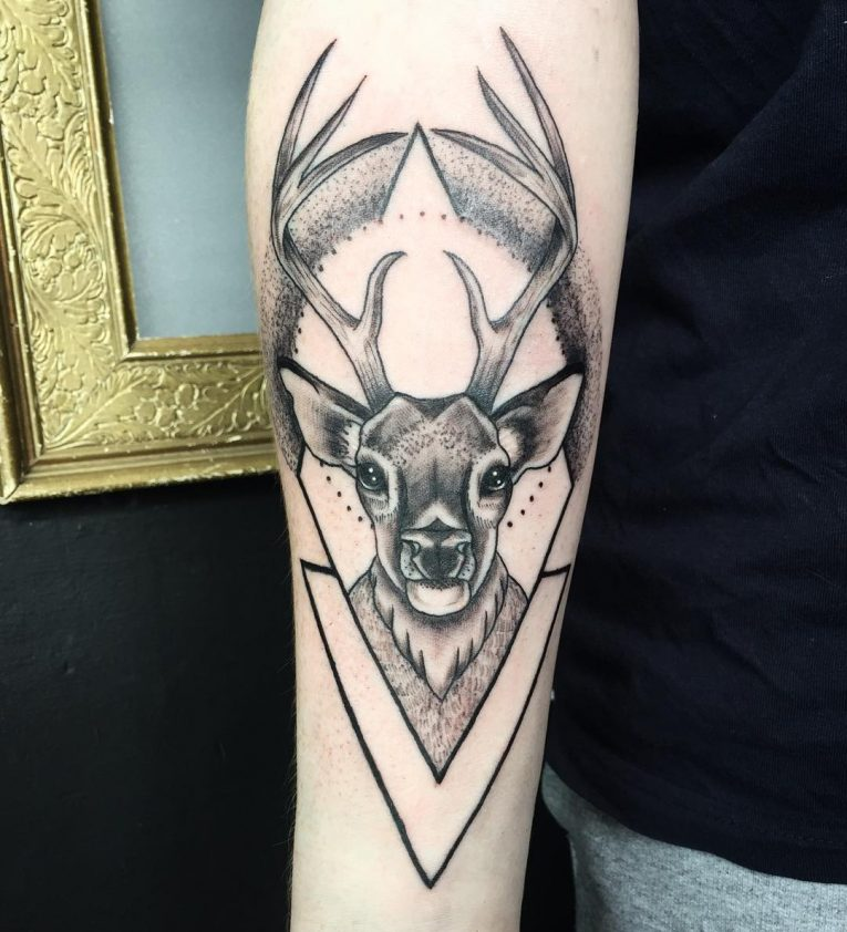 Deer Tattoo 115