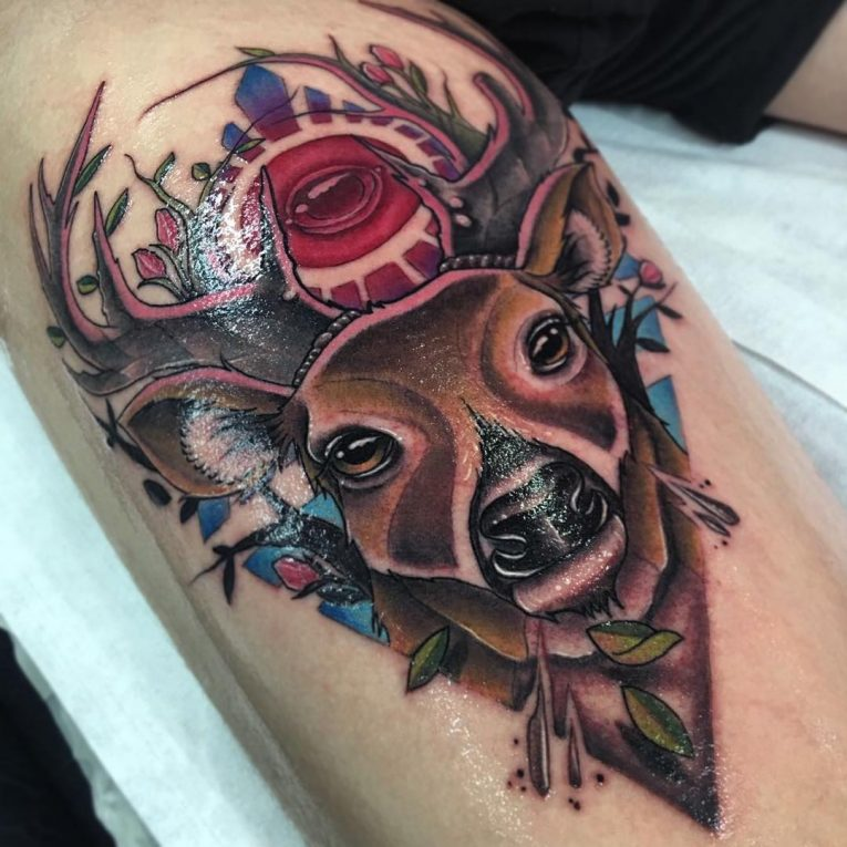 Deer Tattoo 116