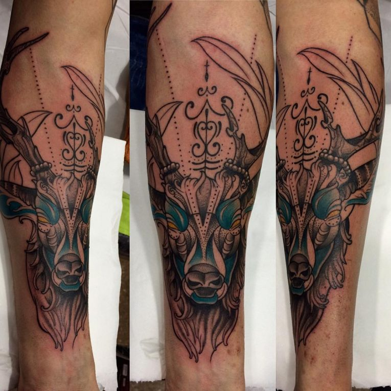 Deer Tattoo 118