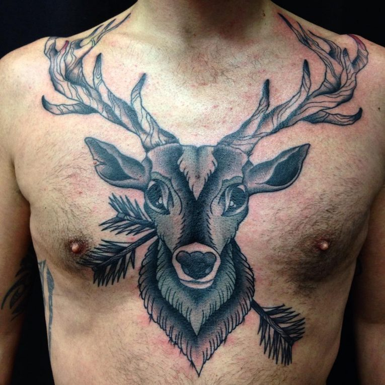 Deer Tattoo 119