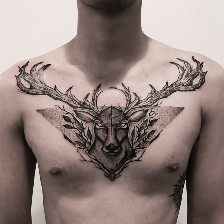 Deer Tattoo 121