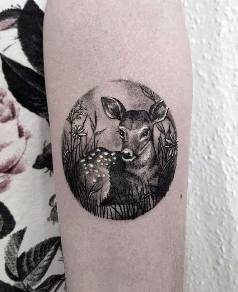 Deer Tattoo 122