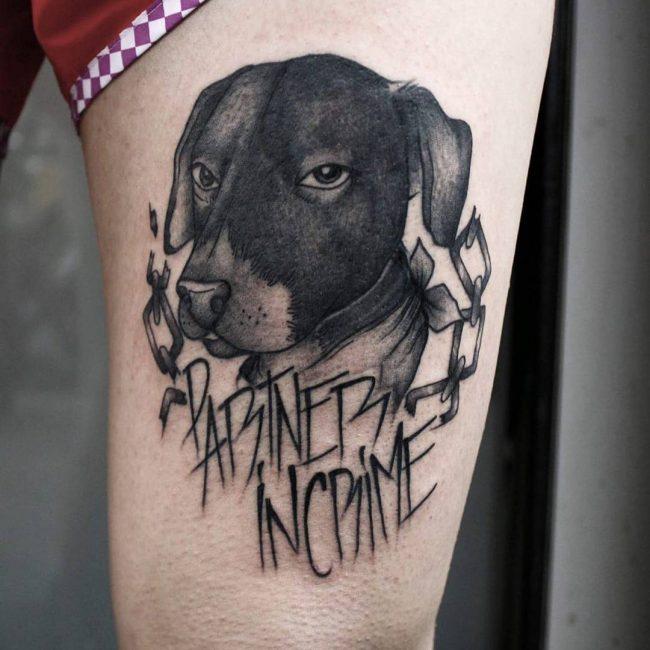 Dog Tattoo 69