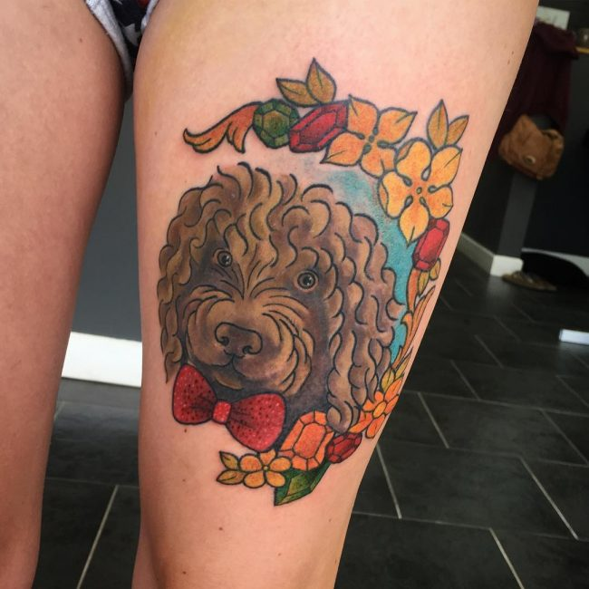 Dog Tattoo 70