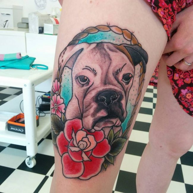 Dog Tattoo 72