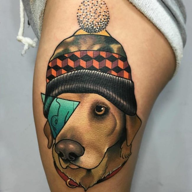Dog Tattoo 74