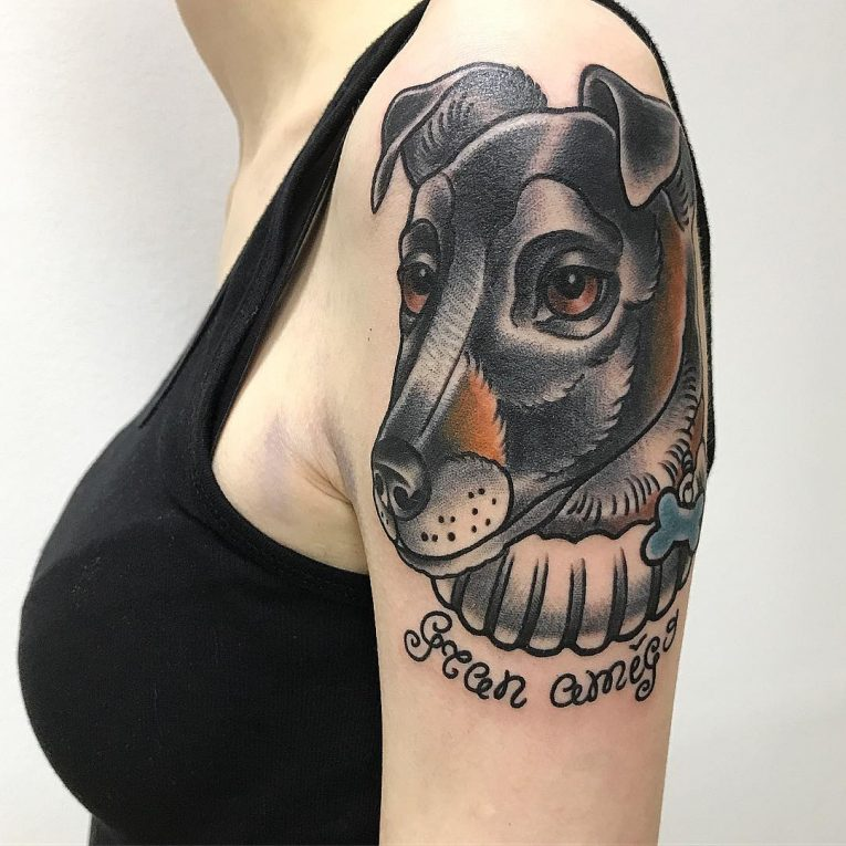 Dog Tattoo 77