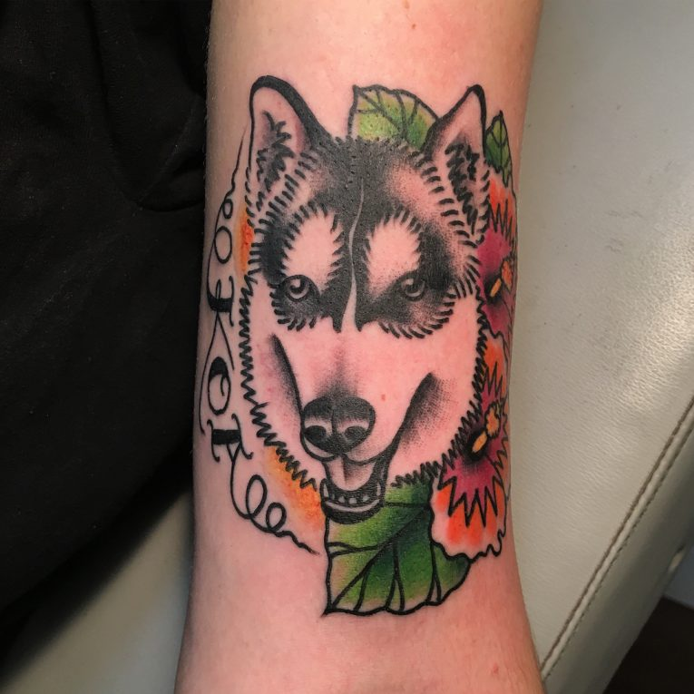 Dog Tattoo 79