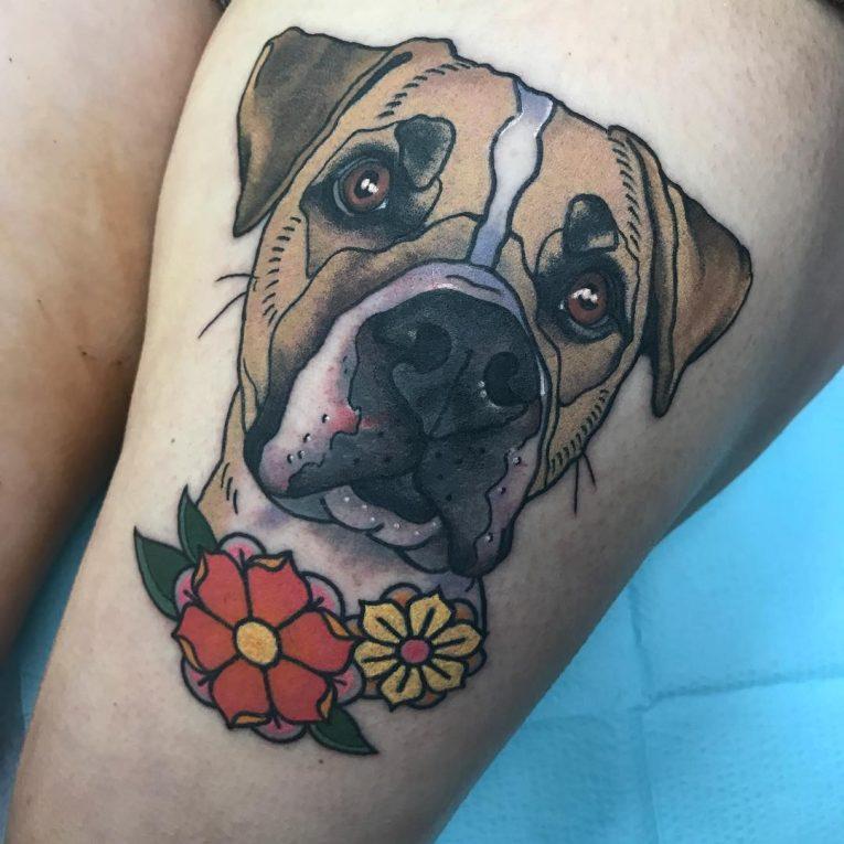 Dog Tattoo 80